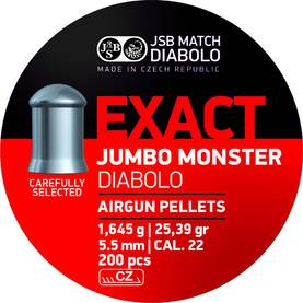 5,52 JSB Jumbo Exact Monster - 5,5 mm luodit - 2041825494320 - 1