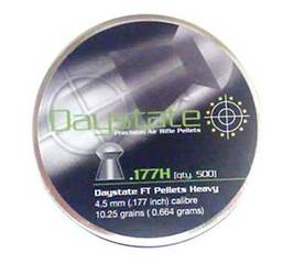 4,52mm Daystate FT Heavy 0,664g 500 kpl - 4,5 mm luodit - 30000012 - 1
