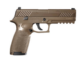 Sig Sauer P320 Coyote Tan 4,5mm ilmapistooli - Co2 kaasutoimiset - 798681568093 - 1