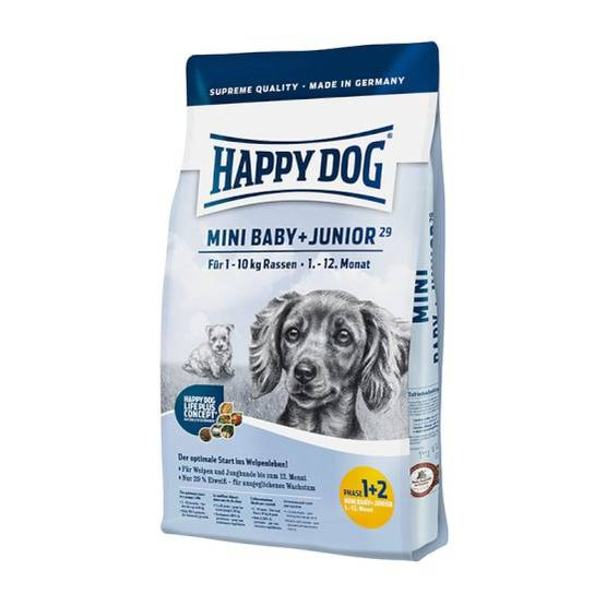 Happy Dog Mini BabyJunior 29 koiranruoka 4kg - Happy Dog koiranruoka - 03413 - 1