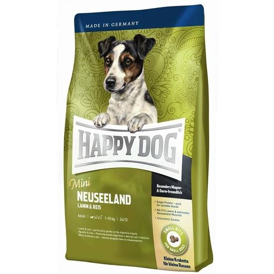 Happy Dog Mini Neuseeland 4kg - Happy Dog koiranruoka - 03573 - 1