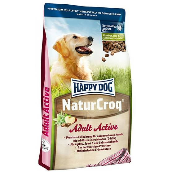 Happy Dog Natur-Croq Active koiranruoka 15kg - Happy Dog koiranruoka - 02553 - 1