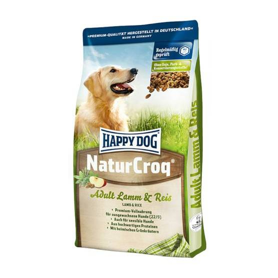 Happy Dog Natur-Croq Lammas & Riisi - Happy Dog koiranruoka - 02563 - 1