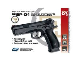 CZ SP-01 Shadow CO2 4,5 mm - Co2 kaasutoimiset - 5707843056014 - 1