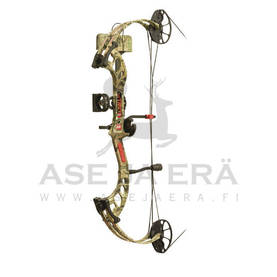 PSE Fever Ready To Shoot RH 60# Black taljajousipaketti - Taljajouset - 429585291274 - 1