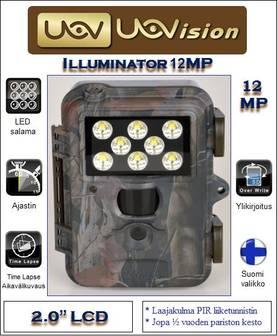 Uovision Illuminator 12 MP Led salama - Riistakamerat - 6955962009414 - 1