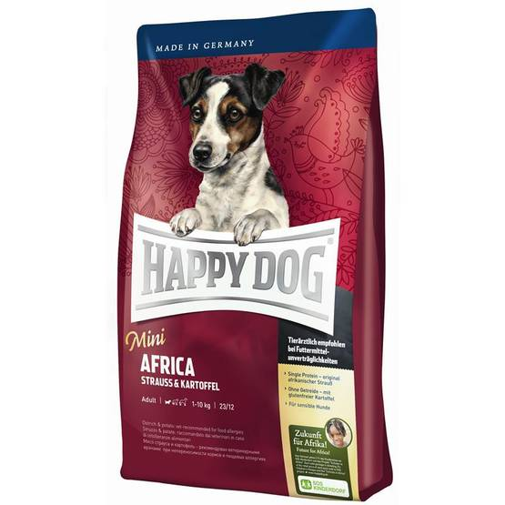 Happy Dog Mini Africa koiranruoka 4kg - Happy Dog koiranruoka - 03574 - 1