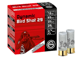 12/65 Geco Dynamic Bird Shot 29g 2,75mm - Haulikon ratapatruunat - R2400235 - 1
