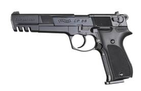"Umarex Walther CP88 CO2 Black 6"" ilmapistooli - Co2 kaasutoimiset - 2216 - 1"