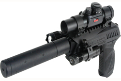 Gamo PT-85 Tactical ilmapistooli - Co2 kaasutoimiset - 793676038346 - 1