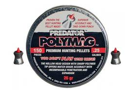 6,35mm JSB Predator Polymag 150 kpl - 6,35 mm luodit - 2047924457457 - 3