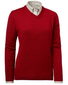 Chevalier Gaby Pullover punainen - Naisille - 808491083157 - 1