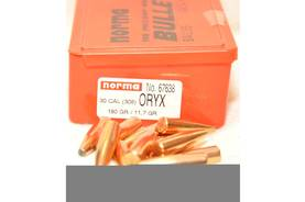 30 cal Norma Oryx 11,7g/180grs 100kpl - Luodit - 7393923676388 - 2