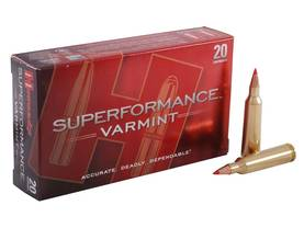 22-250 Hornady Superformance 50gr V-Max - Muut kaliiperit - 090255833669 - 1