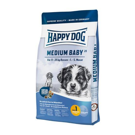 Happy Dog Medium Baby koiranruoka - Happy Dog koiranruoka - 4001967014969 - 1