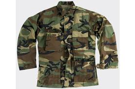 BDU Battle Dress Uniform takki - Ripstop US Woodland - Takit - 2049424347634XS - 3