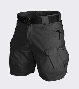 Helikon Urban Tactical Shorts 8,5 Musta - Housut - SPUTSPR01S - 1